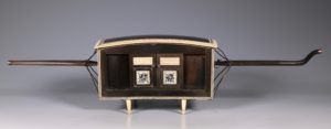 Indian Horn and Ivory Model of a Palanquin 19thC