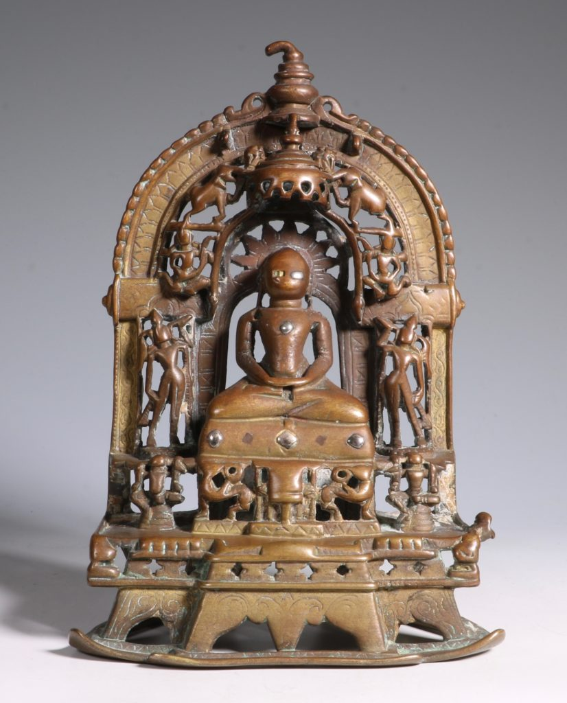 A Jain Votive Buddhist Shrine Dated 1379 2