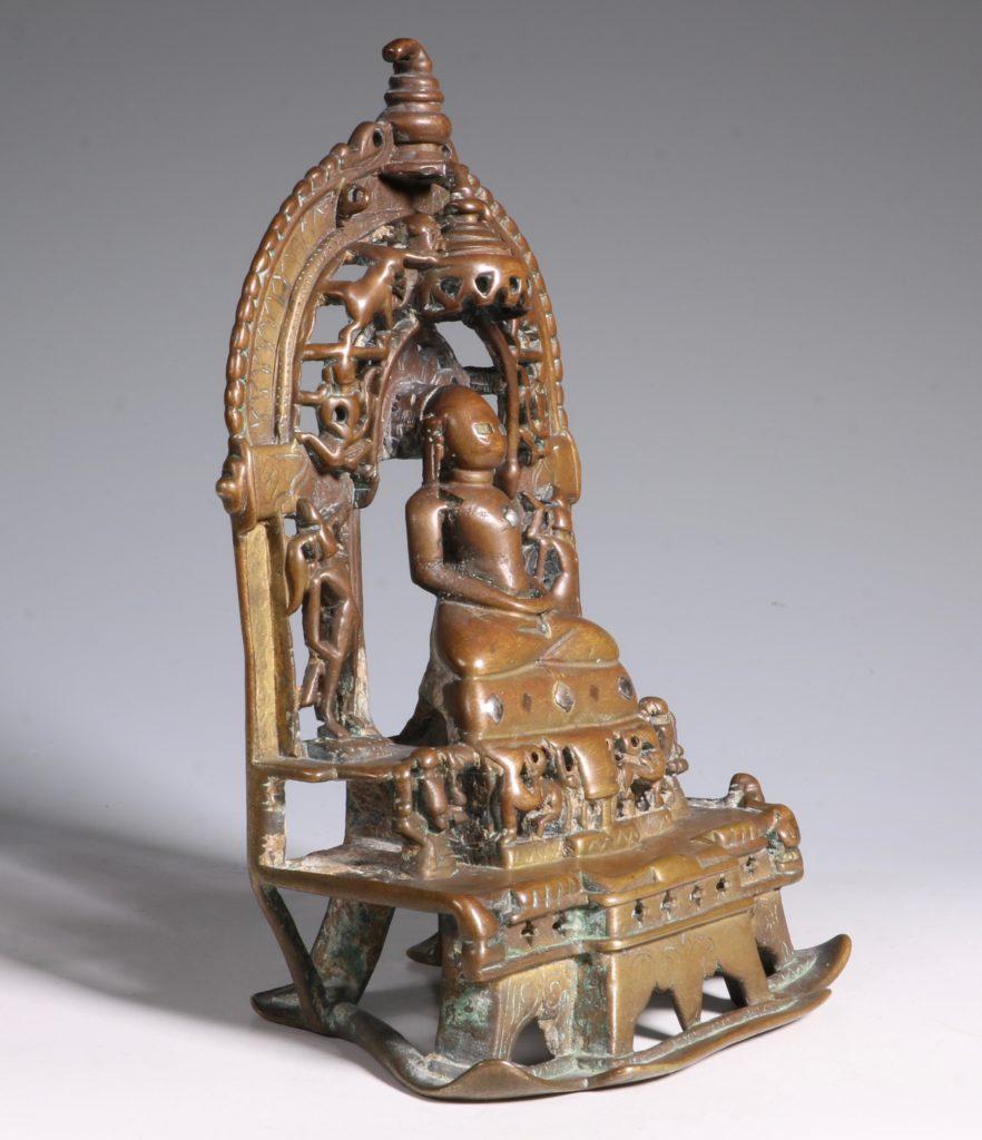 A Jain Votive Buddhist Shrine Dated 1379 5
