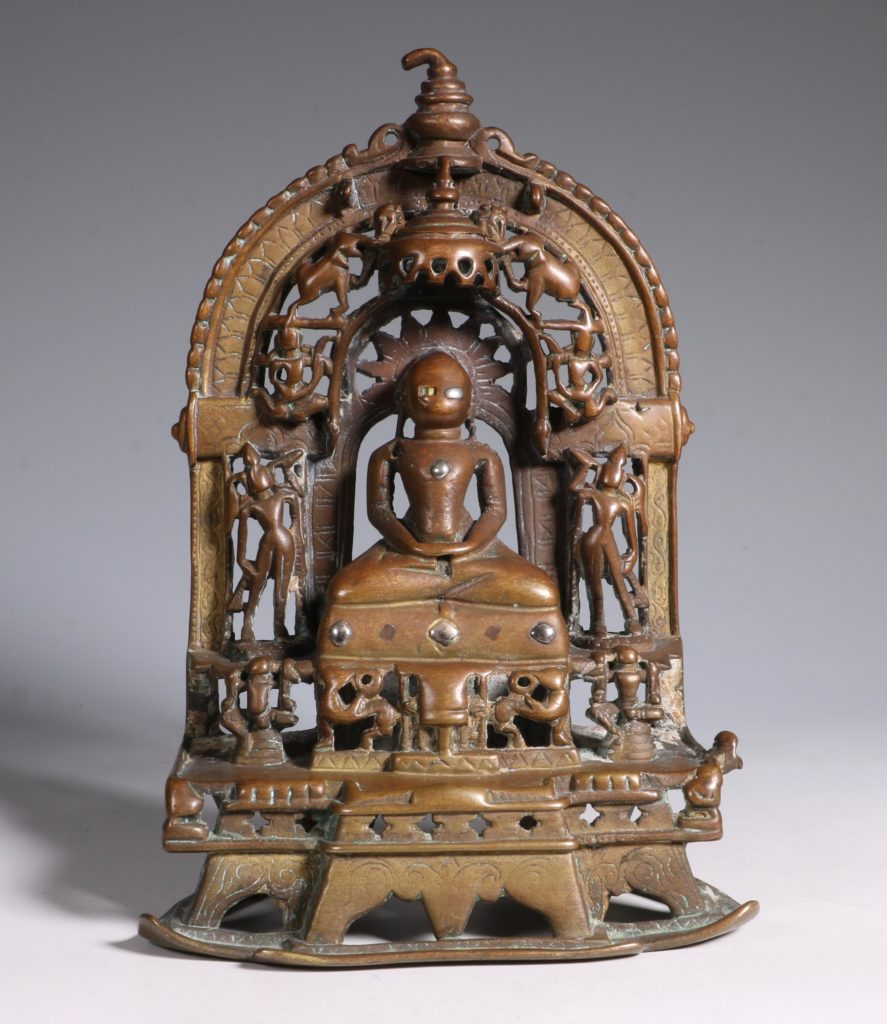 A Jain Votive Buddhist Shrine Dated 1379 1