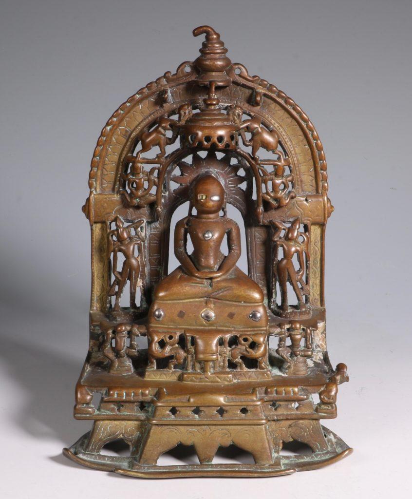 A Jain Votive Buddhist Shrine Dated 1379
