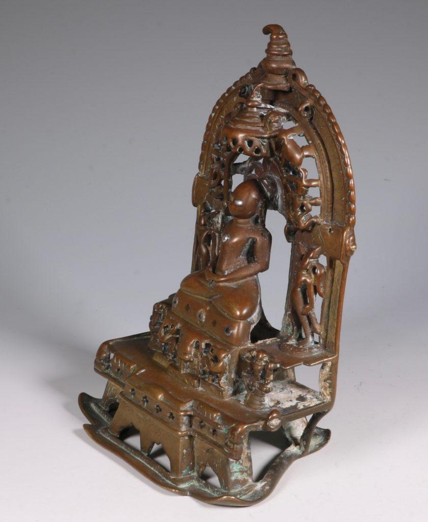 A Jain Votive Buddhist Shrine Dated 1379 3