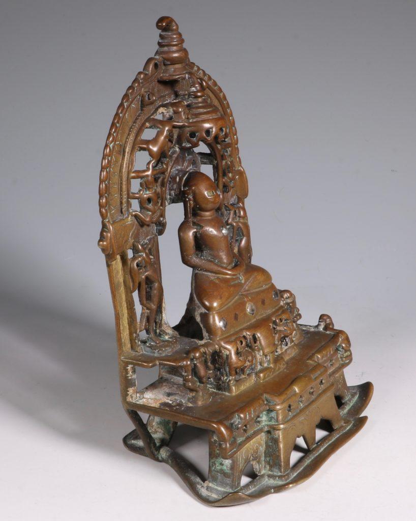 A Jain Votive Buddhist Shrine Dated 1379 4