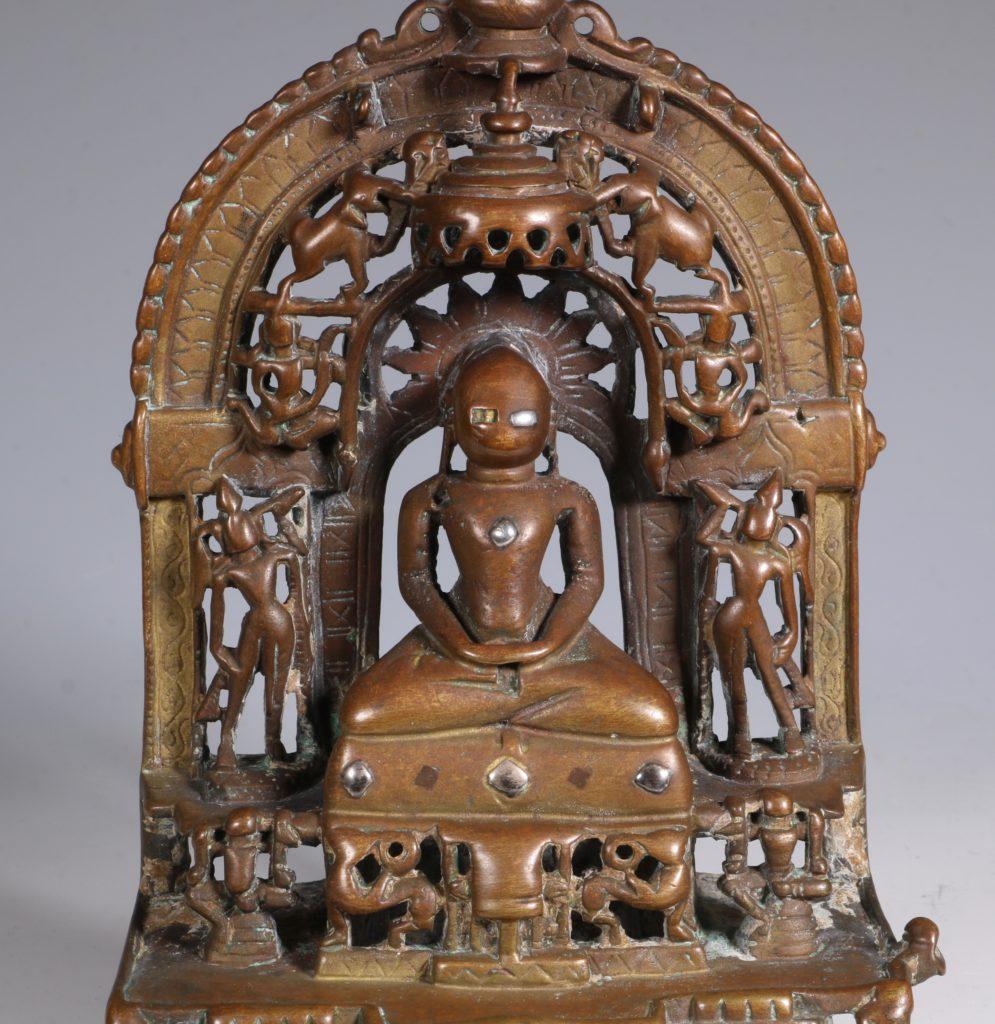 A Jain Votive Buddhist Shrine Dated 1379 10