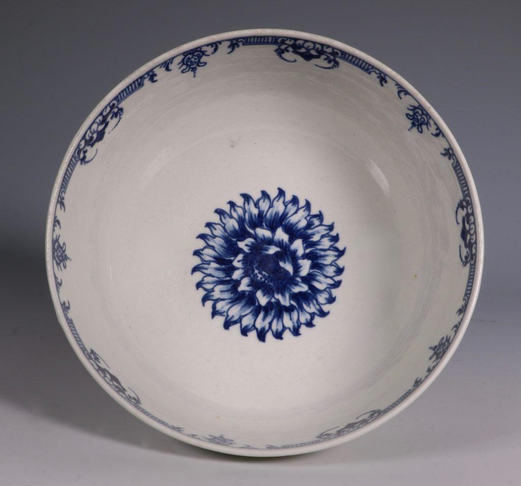 Worcester Chrysanthemum Pattern Bowl C1765 4