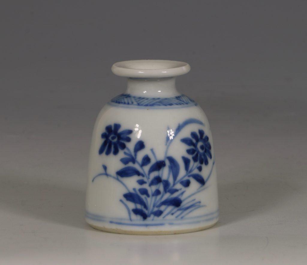 Kangxi Blue and White Water Pot E18thC