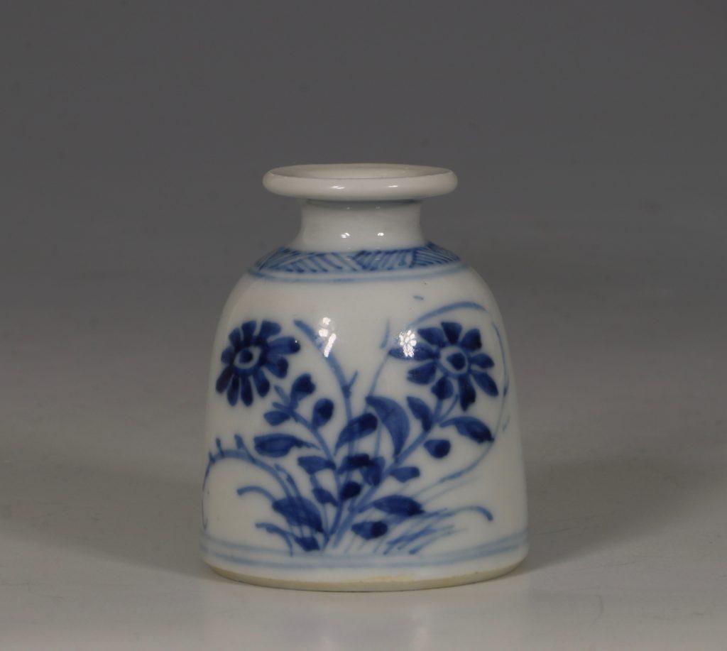 Kangxi Blue and White Water Pot E18thC 1