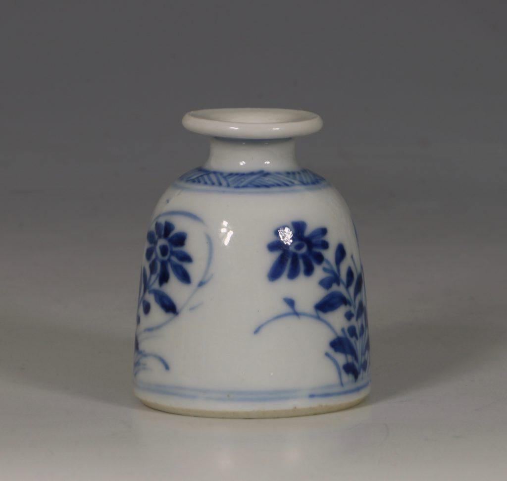 Kangxi Blue and White Water Pot E18thC 2