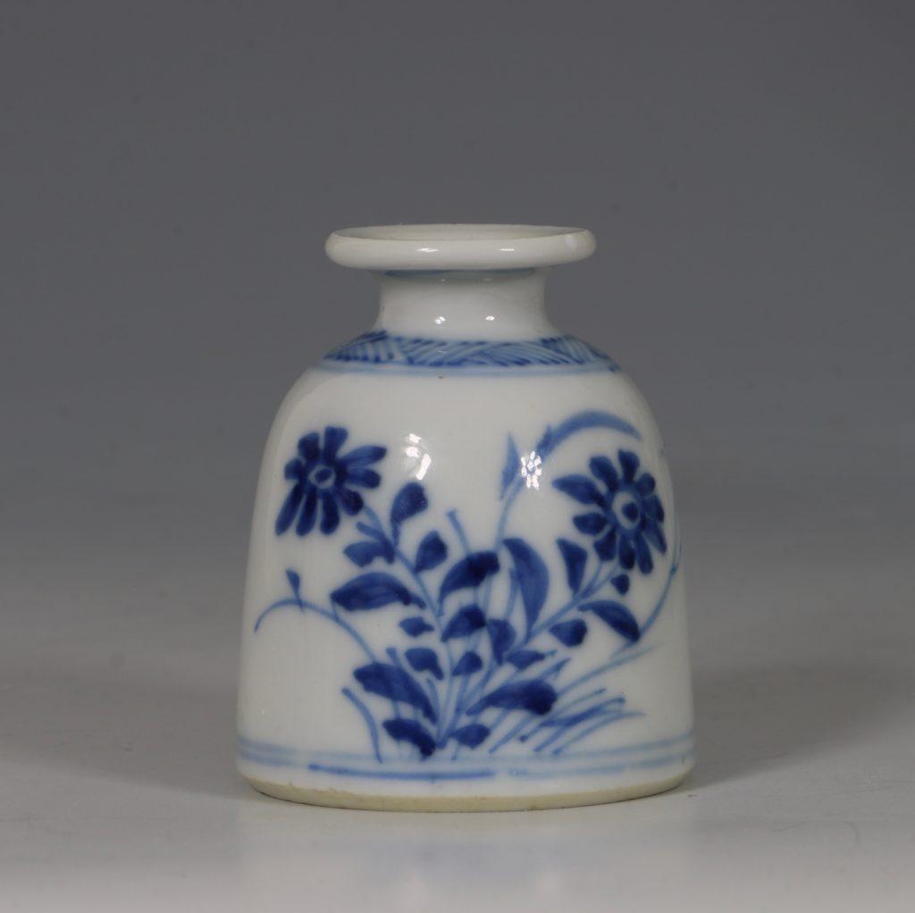 Kangxi Blue and White Water Pot E18thC 3