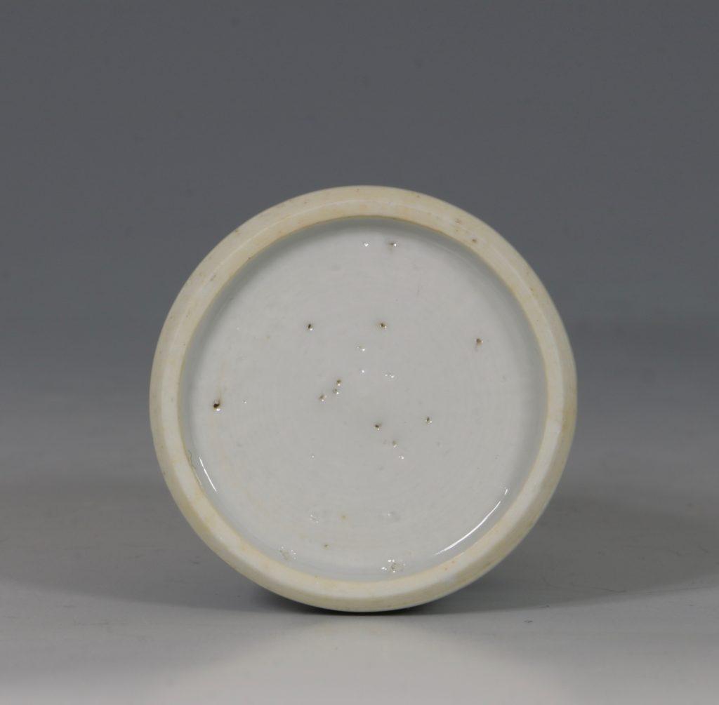 Kangxi Blue and White Water Pot E18thC 5