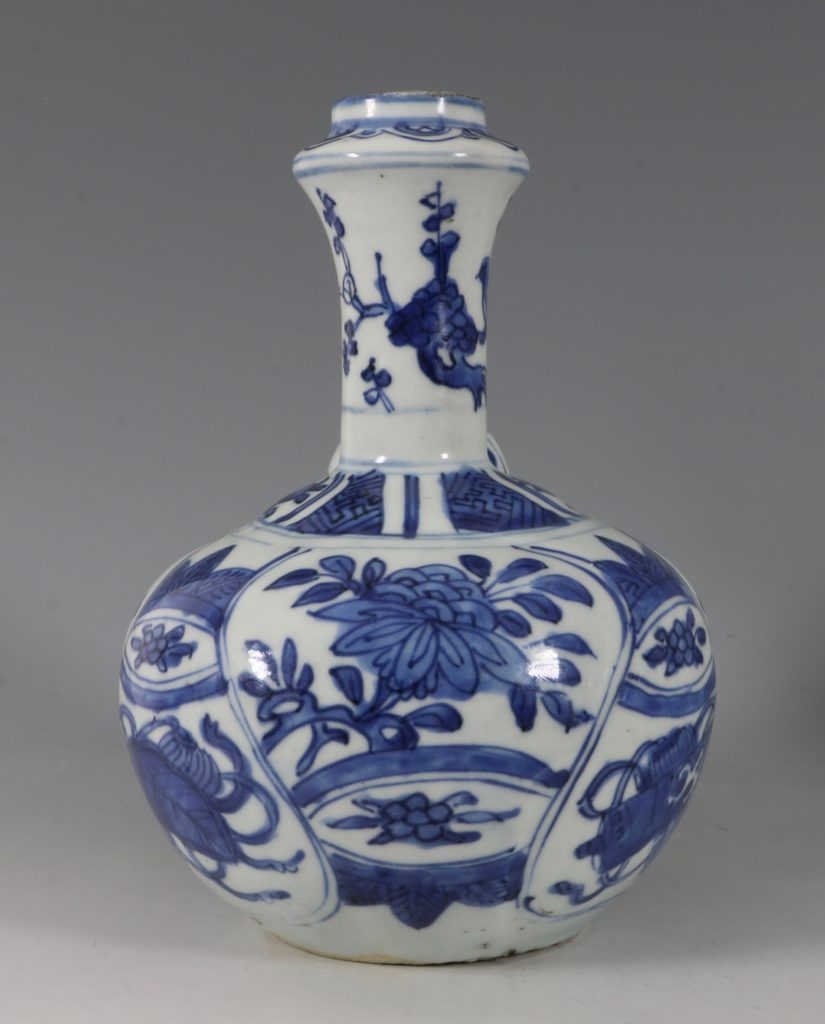 Blue and White Kraak Kendi L Ming C1600 2