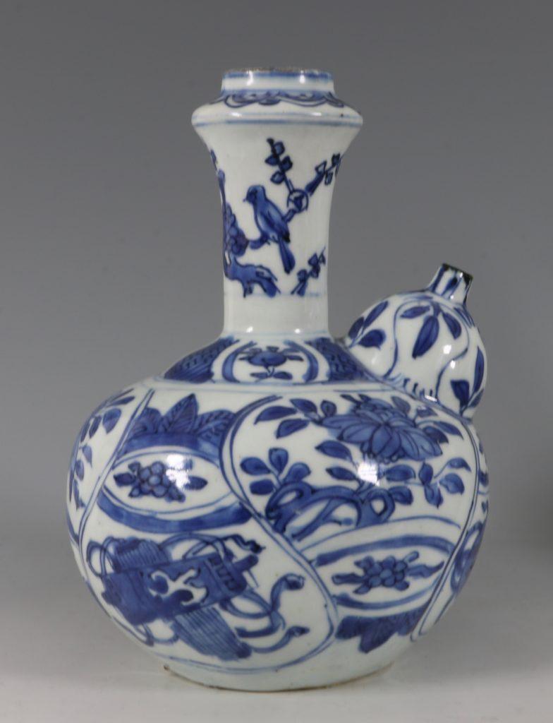 Blue and White Kraak Kendi L Ming C1600 4