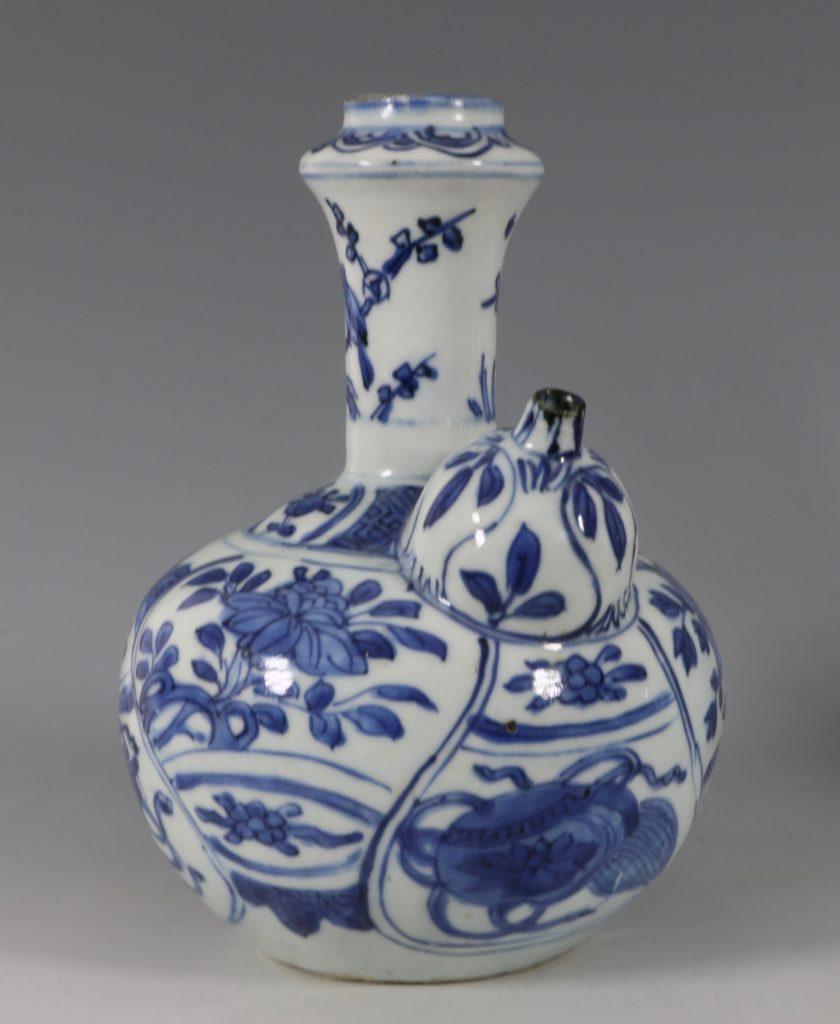 Blue and White Kraak Kendi L Ming C1600 5