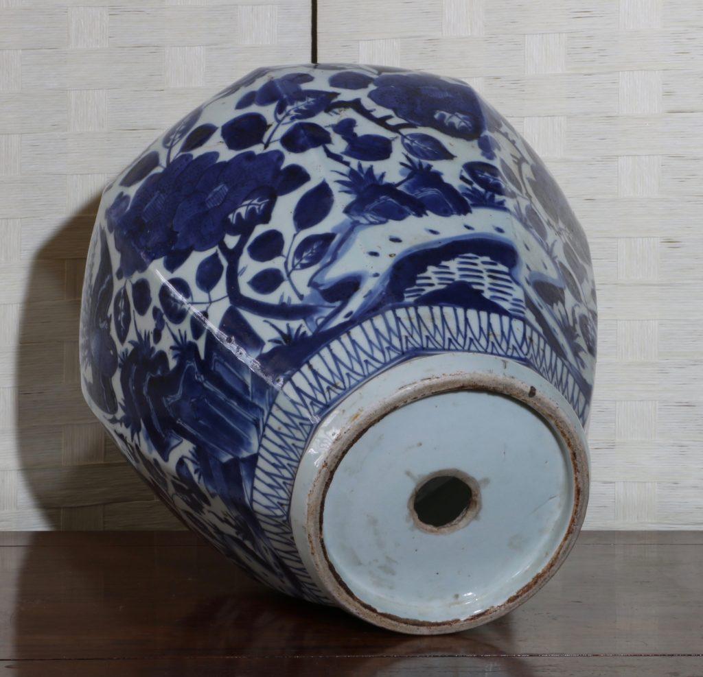 Pair of Arita Blue and White Vases L17thC 11
