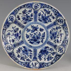 Bristol Delft Plate C1721