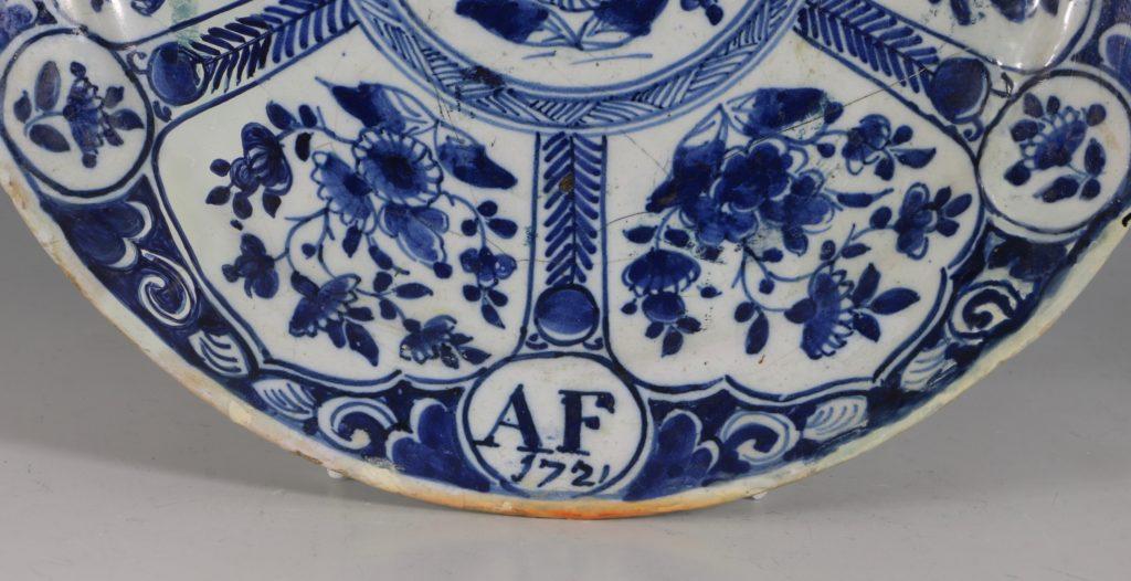 Bristol Delft Plate C1721 1