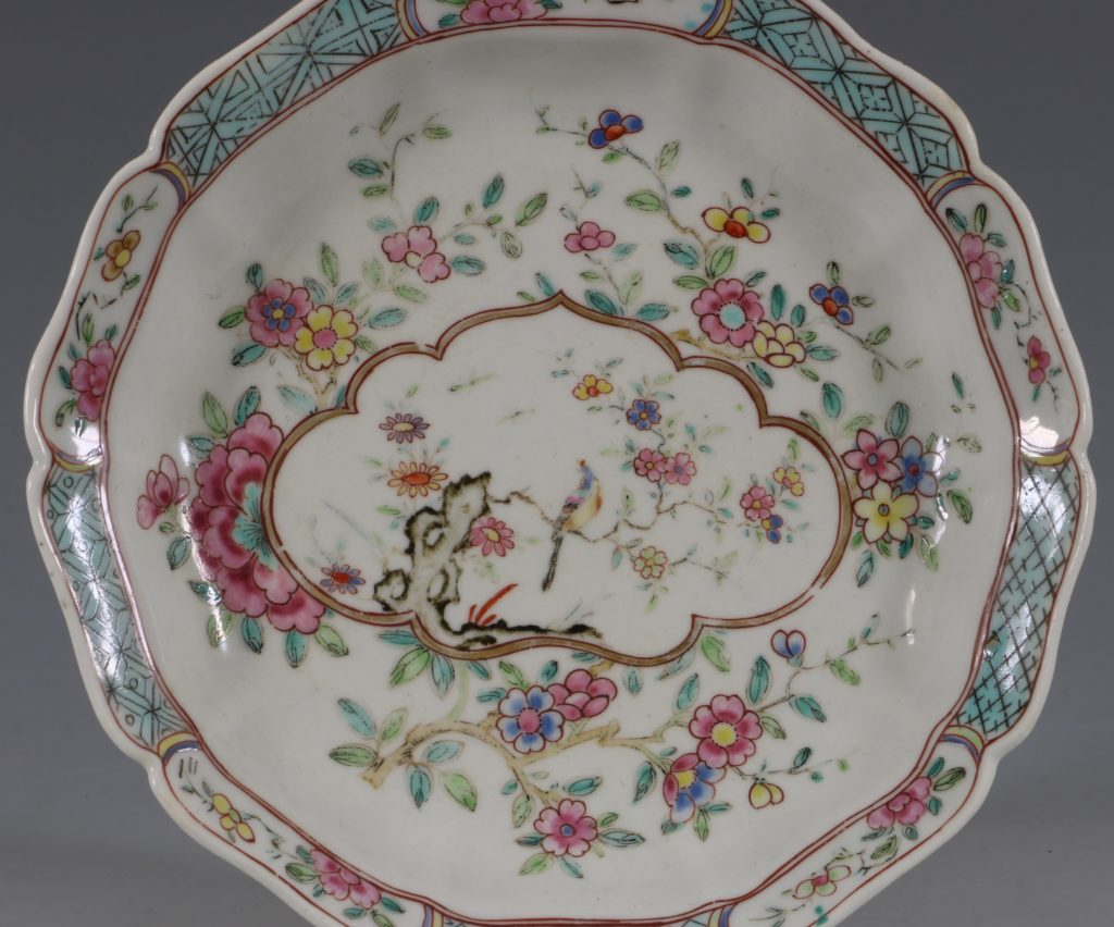 Extremely Rare Pair of Chelsea Dishes Raised Anchor C1752-53 4