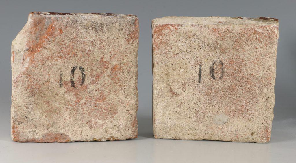A Pair of Medieval Encaustic Tiles 13/15thC 3