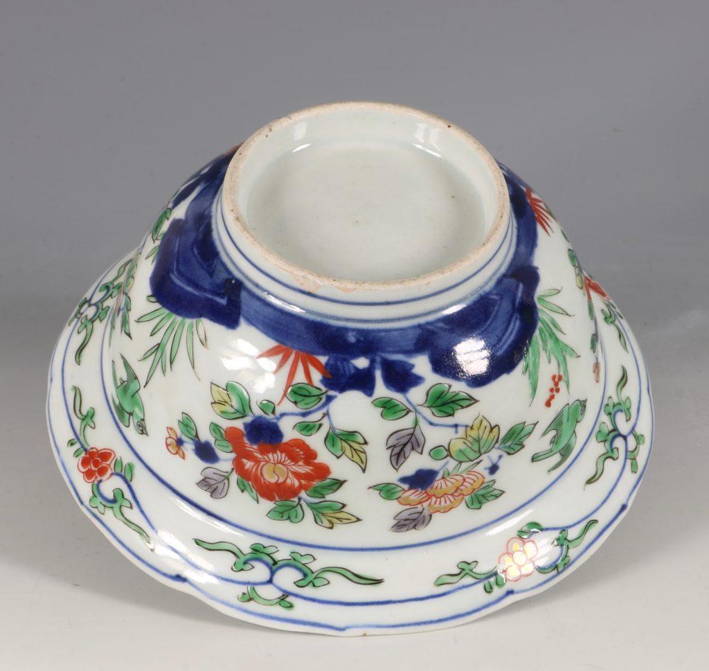A Pair of Japanese Arita Polychrome Bowls C1690/1730 8