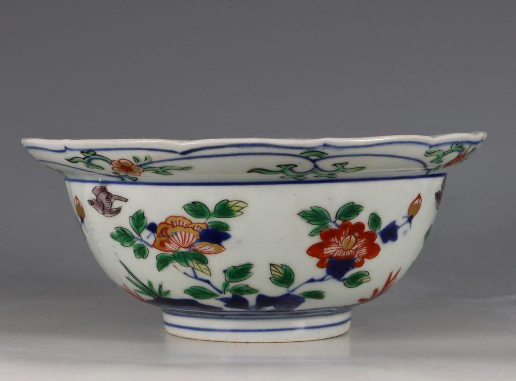 A Pair of Japanese Arita Polychrome Bowls C1690/1730 9