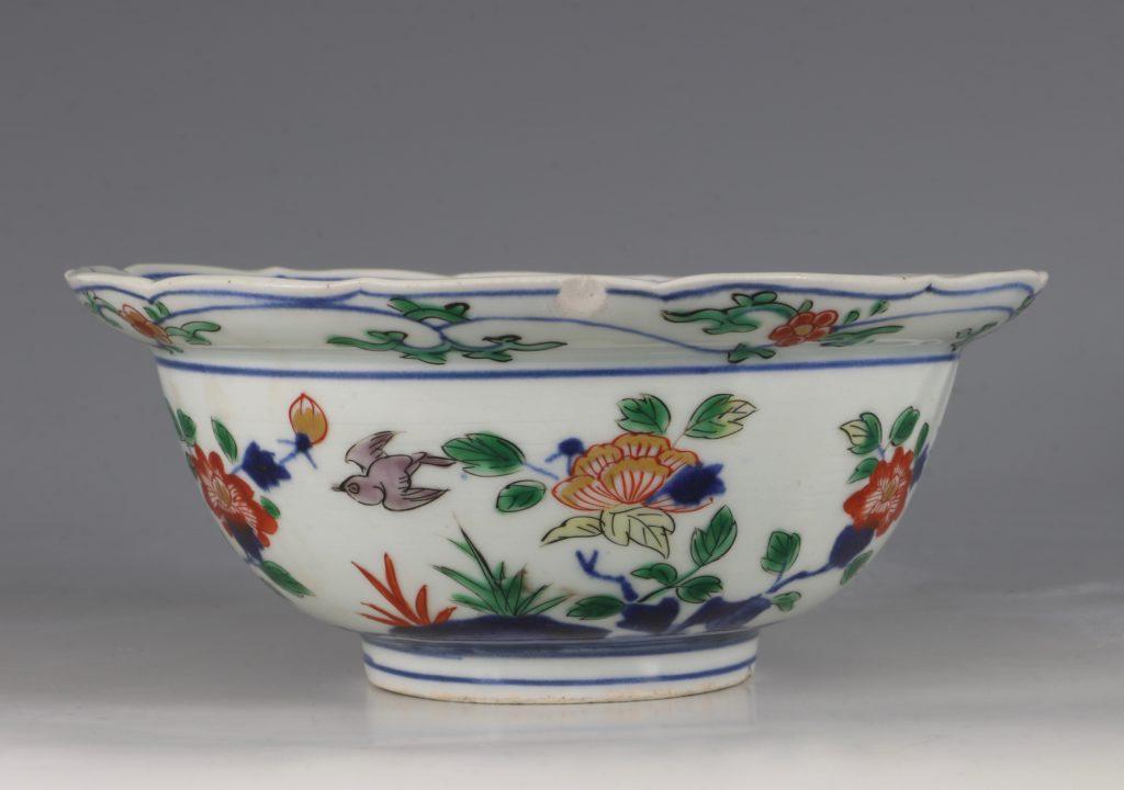 A Pair of Japanese Arita Polychrome Bowls C1690/1730 11
