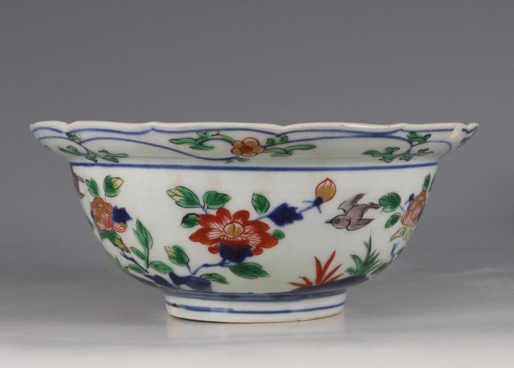 A Pair of Japanese Arita Polychrome Bowls C1690/1730 12
