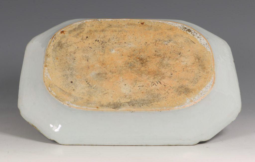 Chinese Mandarin Palette Meat Plate Qianlong C1760/70 3
