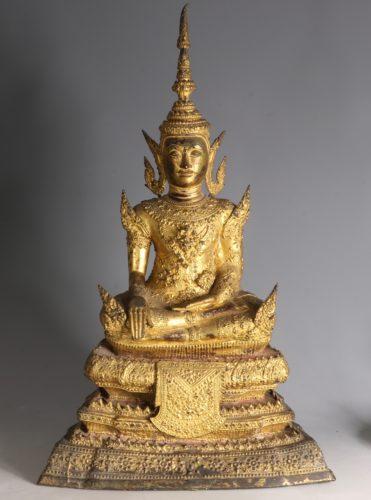 A Thai Figure of Buddha Rattanakosin Period, 19th century