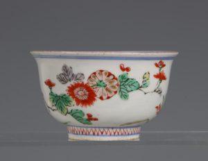 A Polychrome Arita Bowl 17/18thC