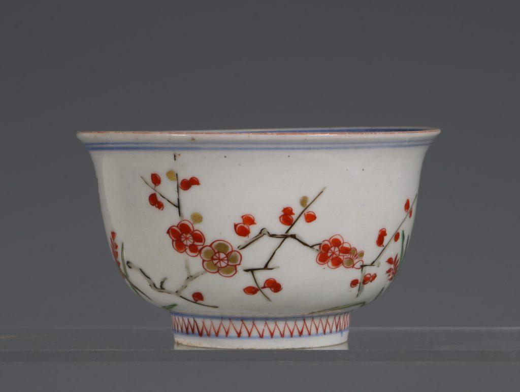 A Polychrome Arita Bowl 17/18thC 2