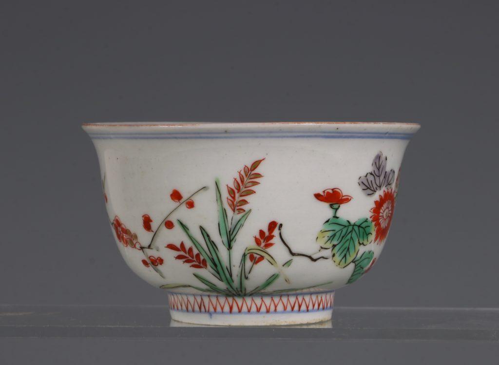 A Polychrome Arita Bowl 17/18thC 3