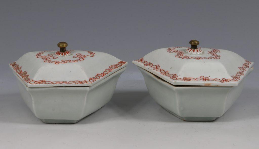 A Japanese Arita Sweetmeat Set E18thC 4