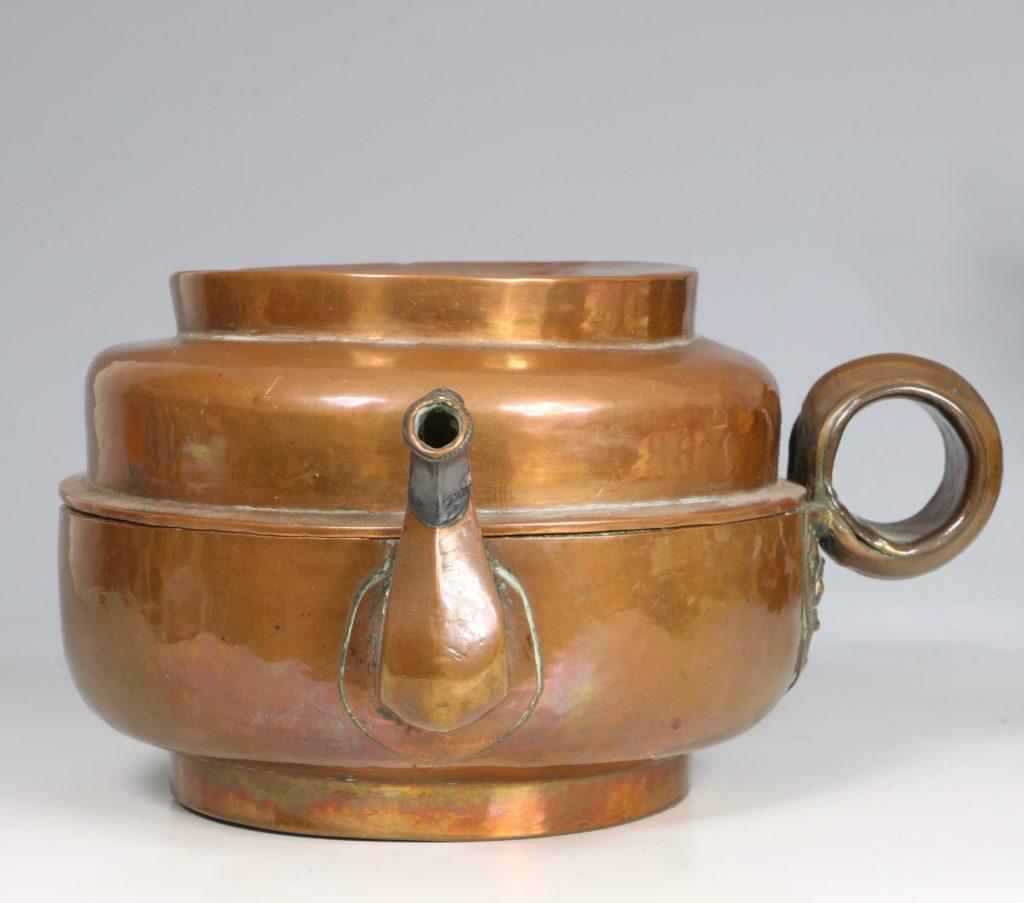A Tibetan Copper Tea Pot 19thC 1