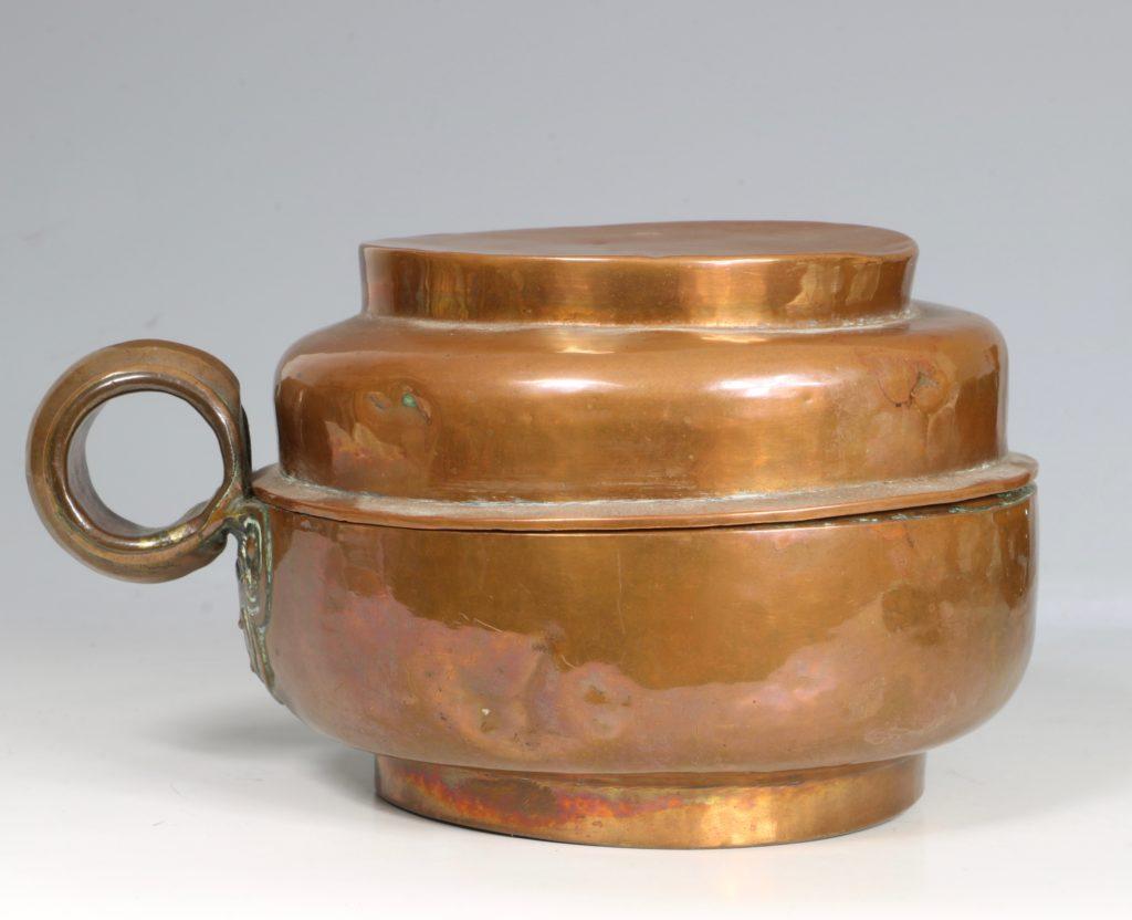 A Tibetan Copper Tea Pot 19thC 2