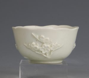 An Early Bow Prunus Teabowl C1750/2
