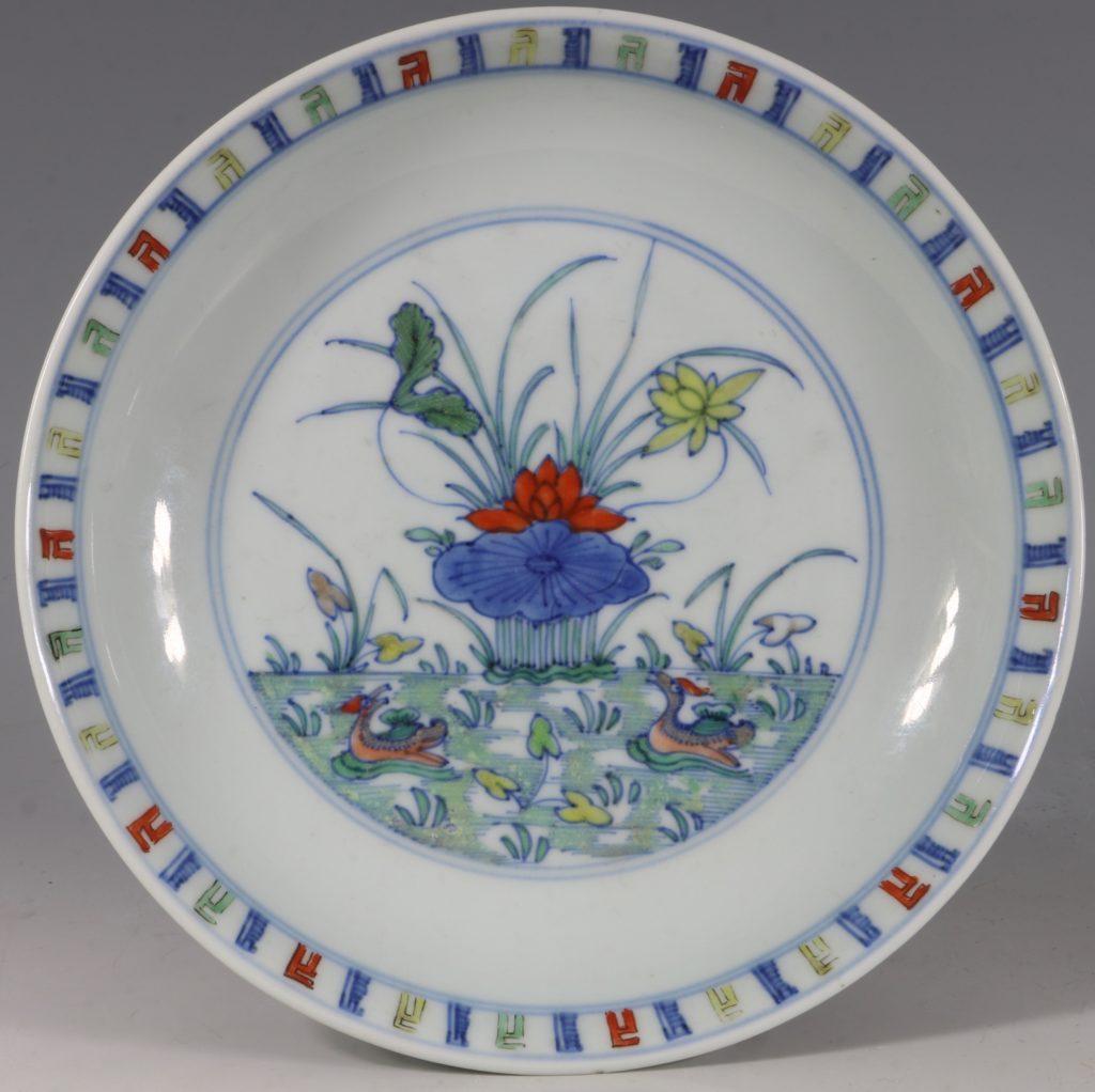 A Doucai Saucer Dish Yongzheng C1723/36
