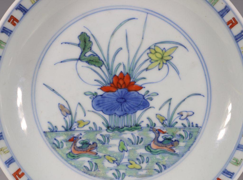 A Doucai Saucer Dish Yongzheng C1723/36 2