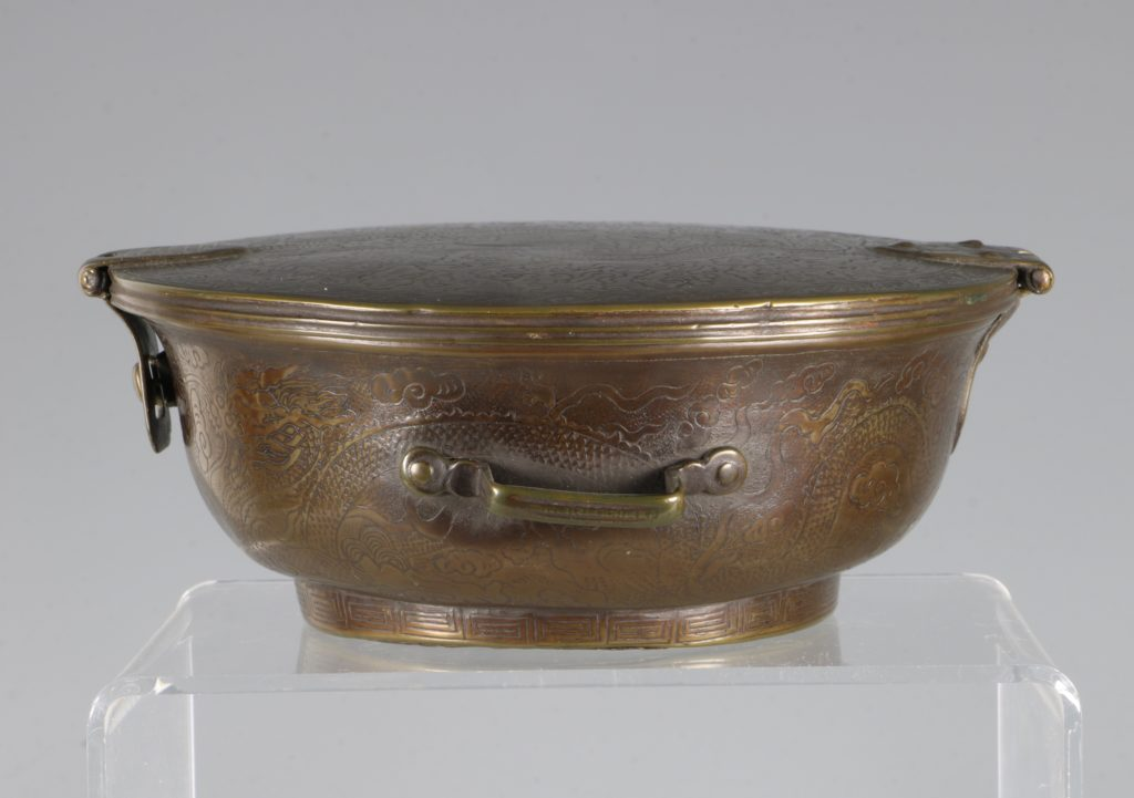 A Sino-Tibetan Bowl Holder 17thC 3