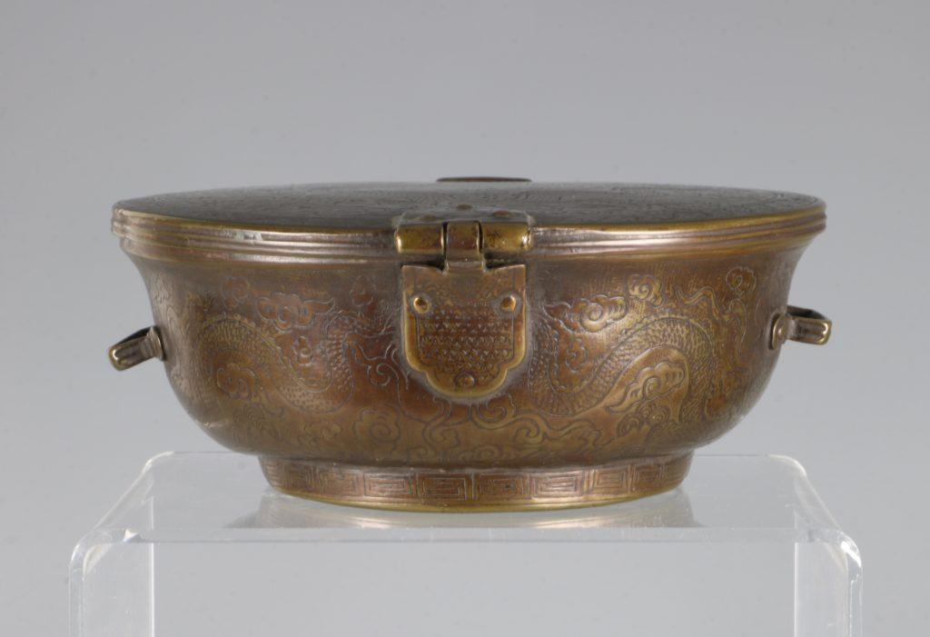 A Sino-Tibetan Bowl Holder 17thC 4