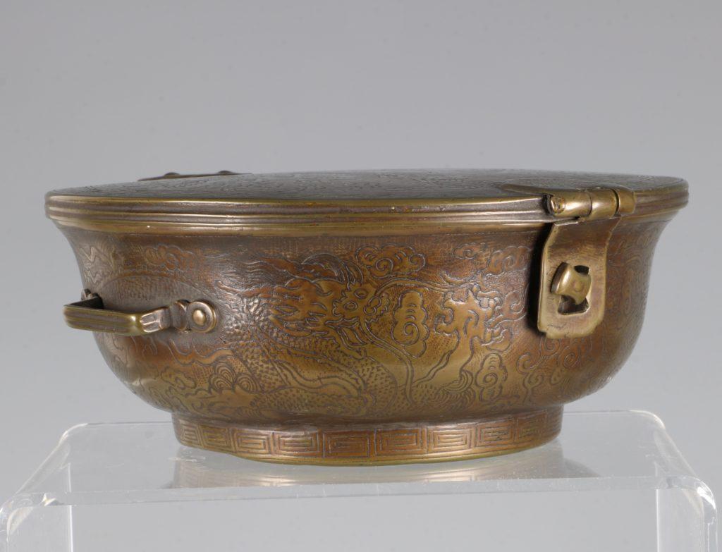 A Sino-Tibetan Bowl Holder 17thC 6