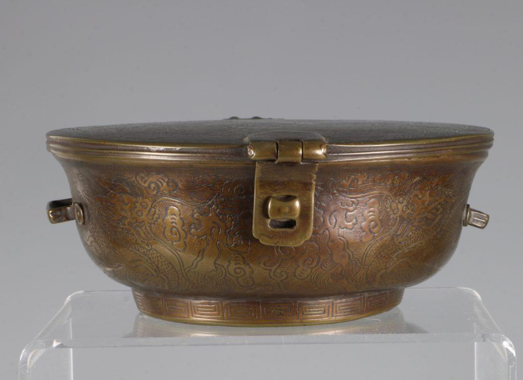 A Sino-Tibetan Bowl Holder 17thC 7