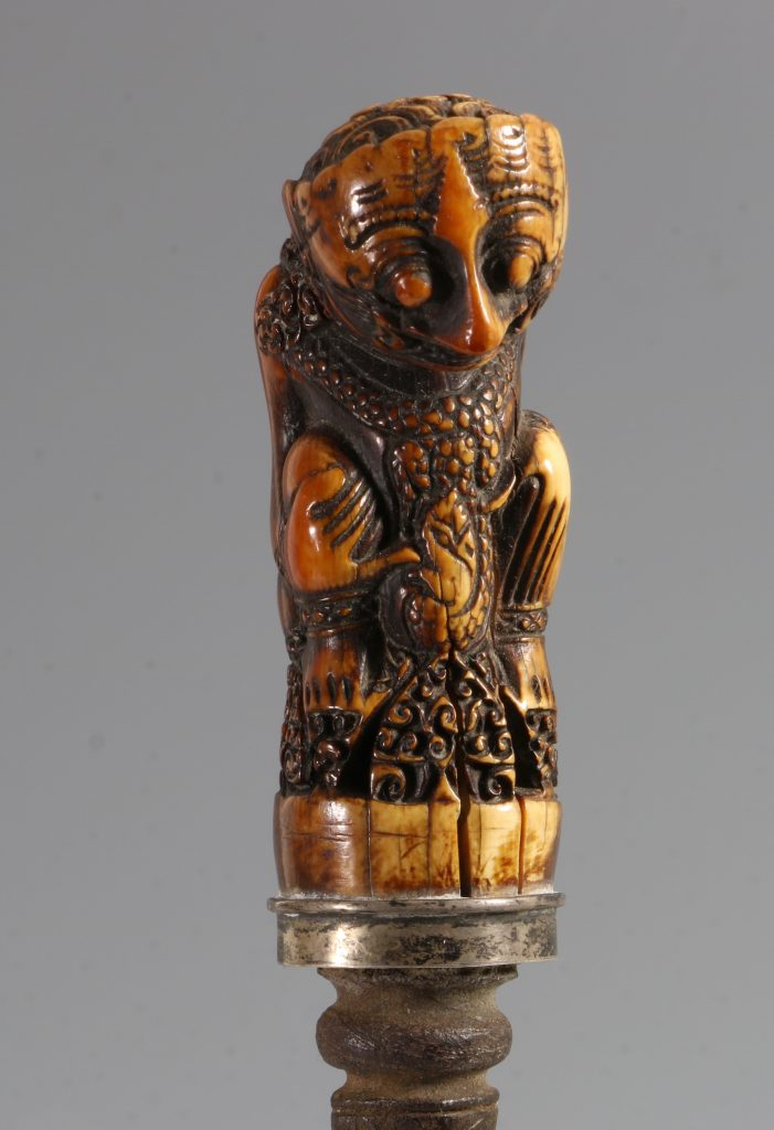 An Ivory Handled Kris Western Java Cirebon 6