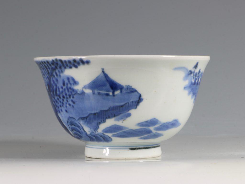 A Japanese Arita Blue and White Bowl 18/19thC 3