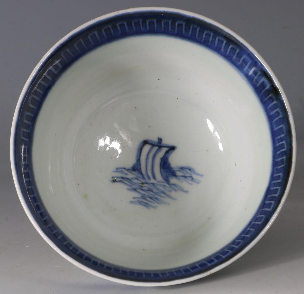 A Japanese Arita Blue and White Bowl 18/19thC 5
