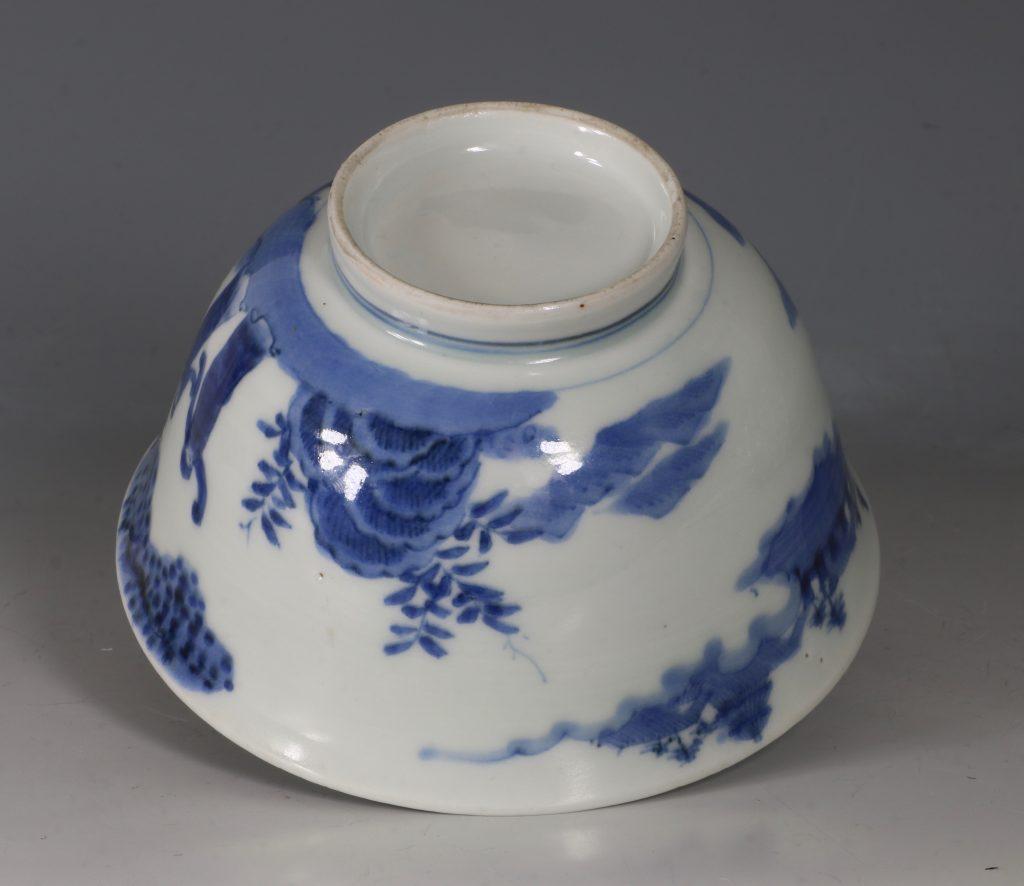 A Japanese Arita Blue and White Bowl 18/19thC 6
