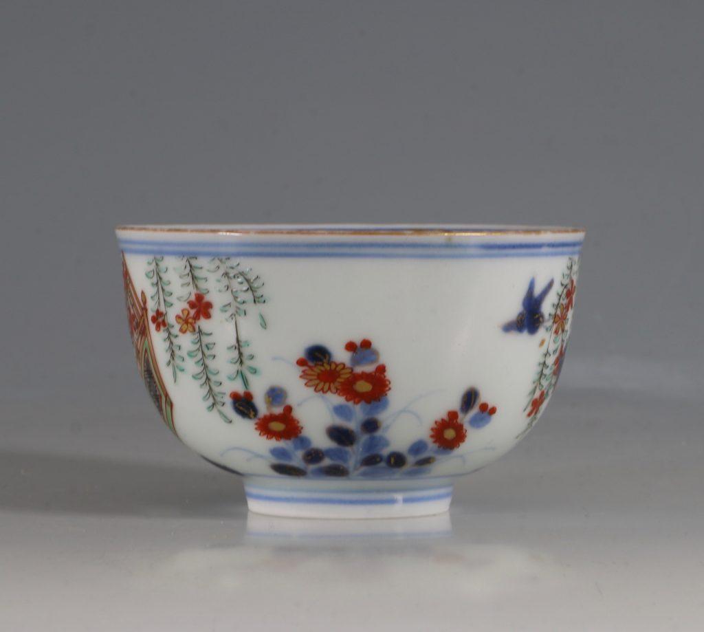 A Japanese Arita Tea Bowl 17/18thC 2