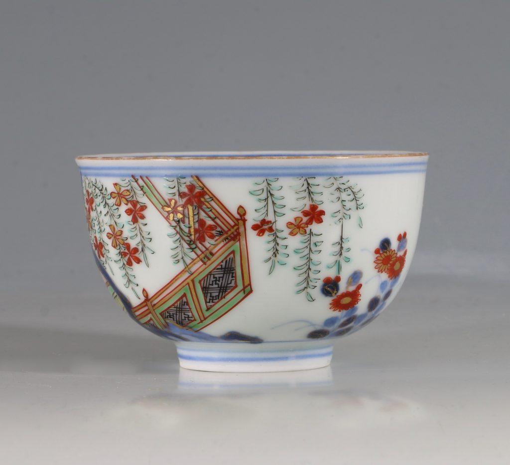 A Japanese Arita Tea Bowl 17/18thC 3
