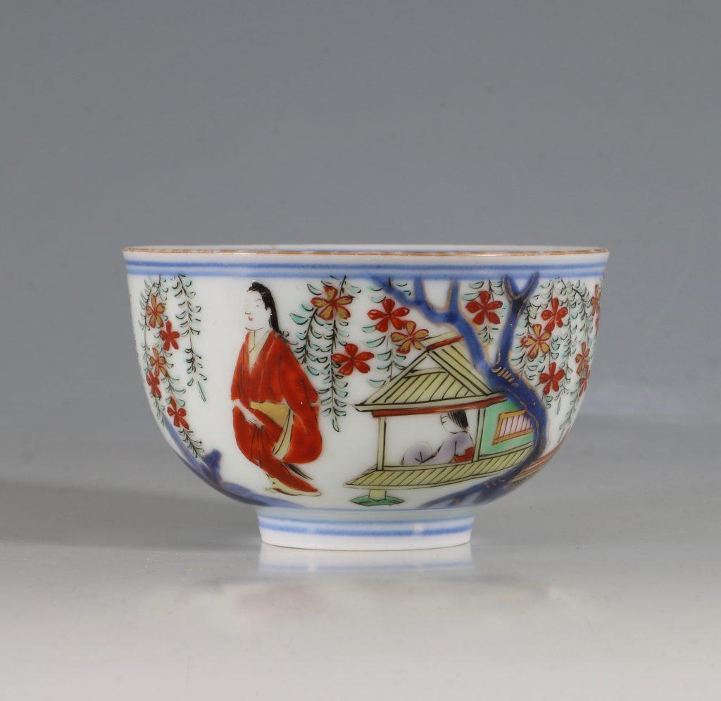 A Japanese Arita Tea Bowl 17/18thC 5