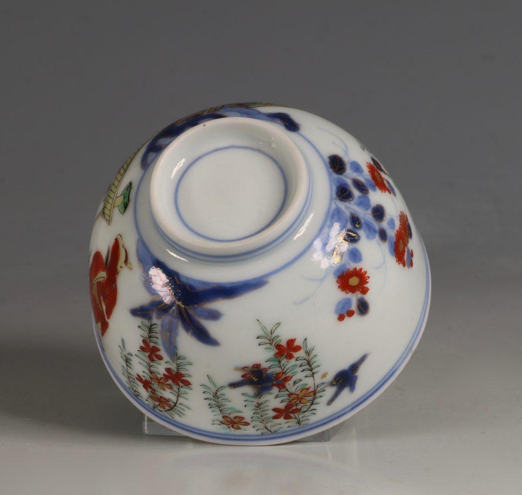 A Japanese Arita Tea Bowl 17/18thC 7