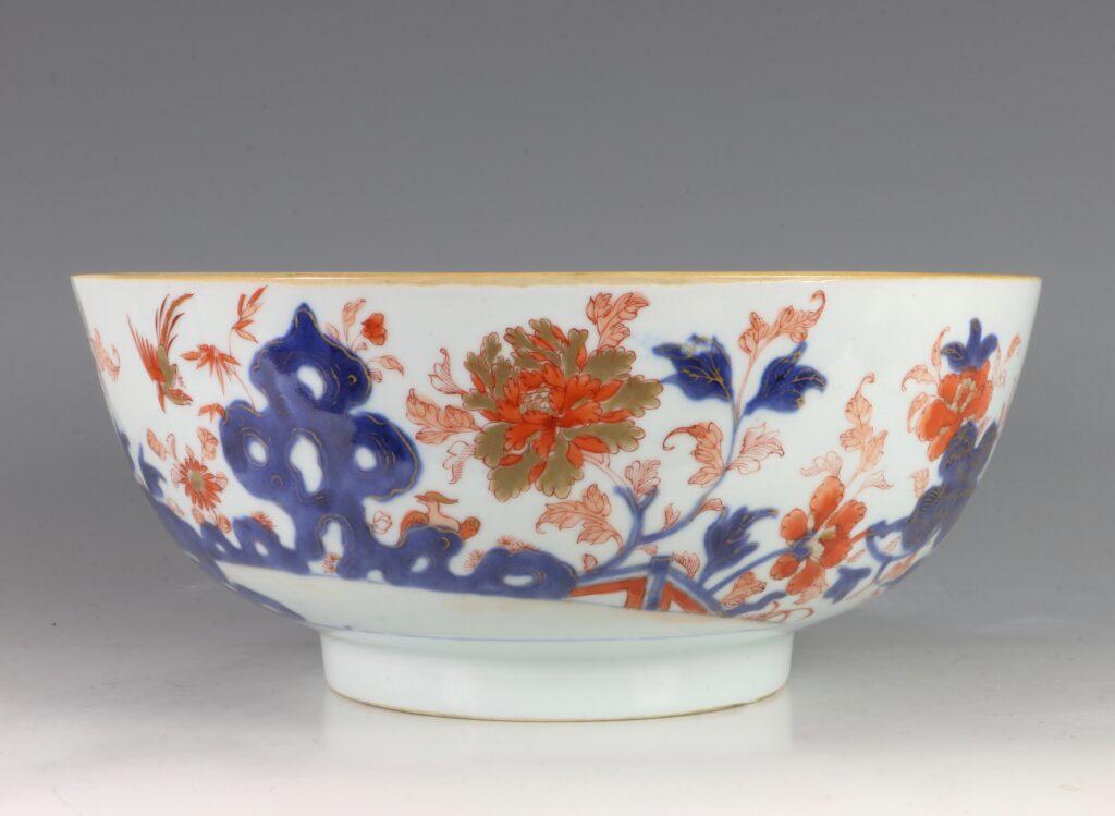 A Chinese Imari Punchbowl Qianlong C1760 2